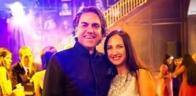 Giving Back: Vivek & Sharmila Seth