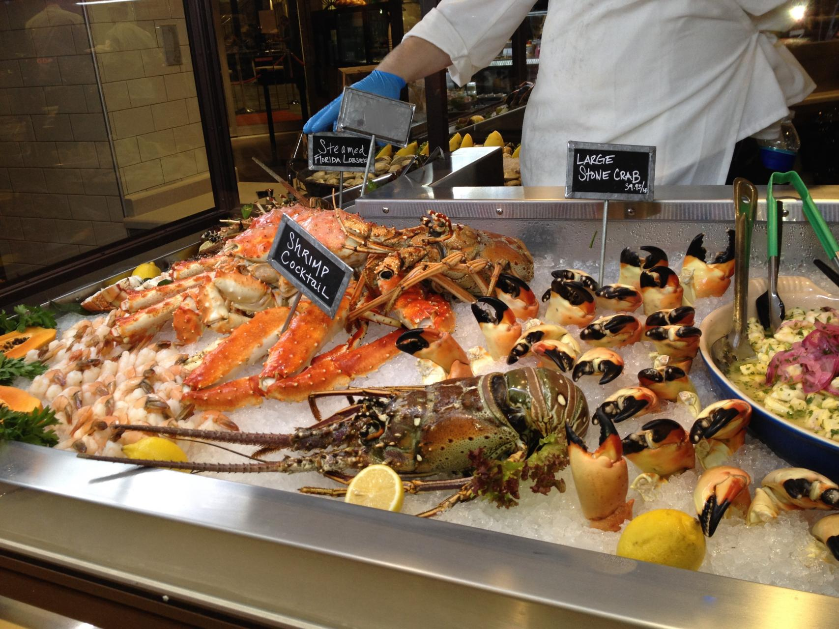 Locale market adds to our culinary scene for Fish market tampa