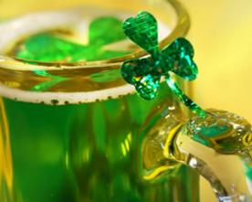 Raise A Glass To St. Patrick