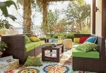 creating an outdoor oasis