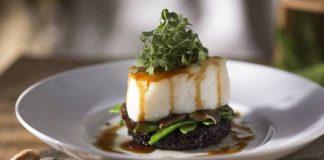 Seasons 52 Asian-Glazed ChIlean Sea Bass