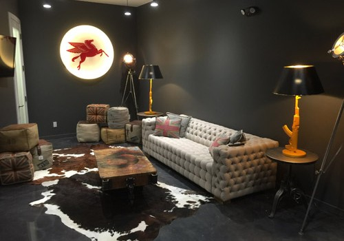 state-of-the-art office for Michael Martin's branding, sales and marketing company