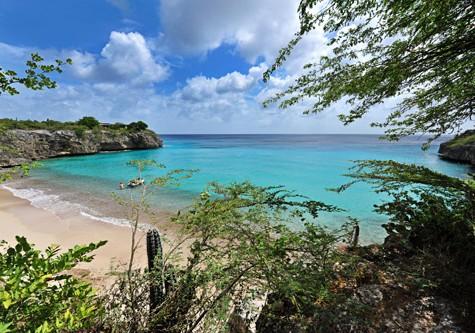 the beautiful island of Curacao