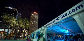 Tampa's Downtown Ice Rink Opens