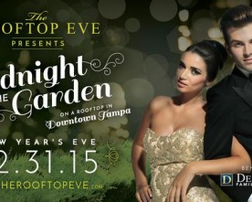 Ring in the New Year at Tampa's Rooftop Eve