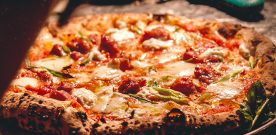 Must Try: The Wood-Fired Salsiccia Pizze