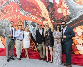 METRO PIX: Bern's Birthday Bubble Brunch and Mural Unveiling