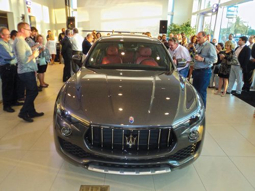 Maserati of Tampa Levante unveiling party