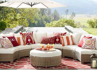 classic stripe indoor outdoor pillows