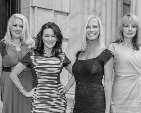 Jessica Chancey, Ingrid Coulon, Laura McGowan and Valerie Yost