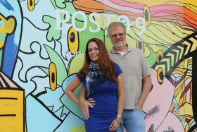 POSTO 9 owners, Grace and Marco Franca