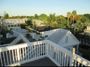 NYAH rooftop deck view of Key West