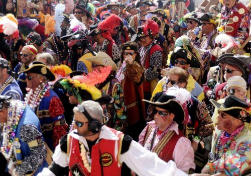 Gasparilla Parade of Pirates in Tampa