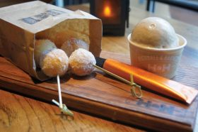 Ritz Carlton Orlando baby donuts