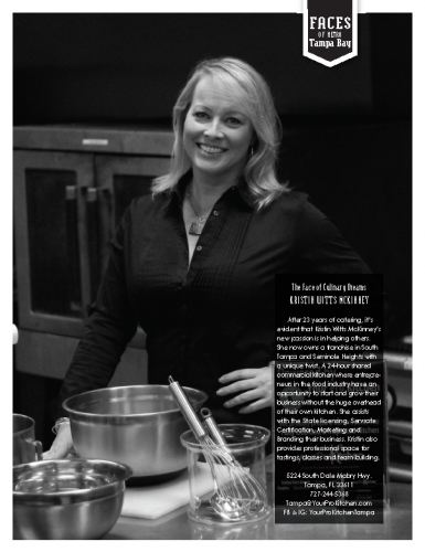 The Face of Culinary Dreams KRISTIN WITTS MCKINNEY