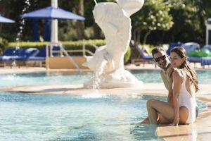 Ritz Carlton Orlando poolside