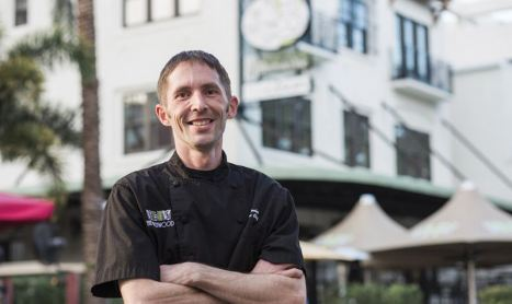 Chef Luke Decker: Passionate, Creative and Intense.