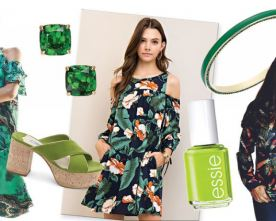 Fashion Inspired by 'Greenery'