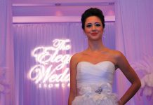Fashion show at The Elegant Wedding Showcase