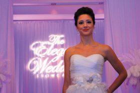 Fashion show at The Elegant Wedding Showcase