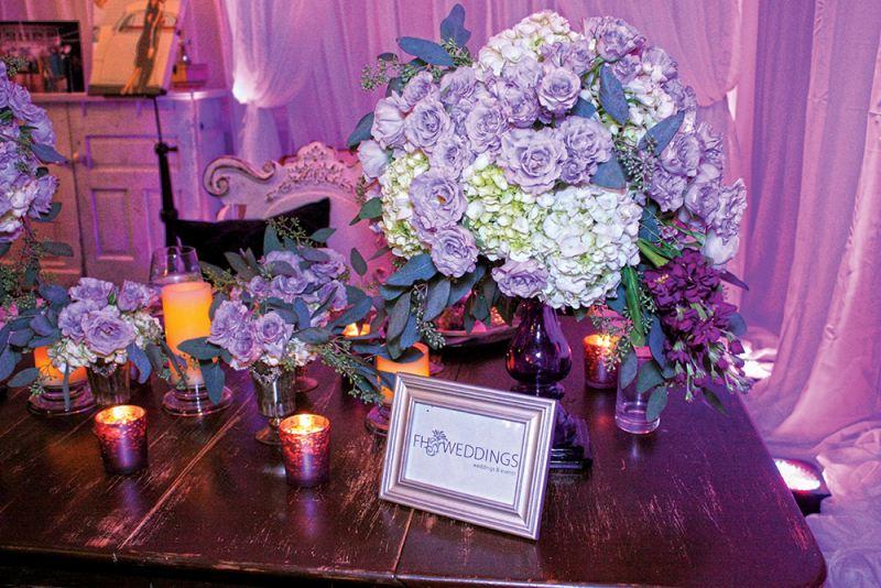 FH Weddings display at The Elegant Wedding Showcase