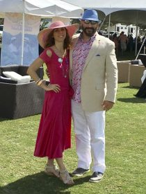 Chad & Patti Vorbrich at Charity Polo Classic 2017
