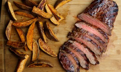 Sweet and Smokey Grilled Flank Steak