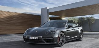 Porsche Panamera at Reeves