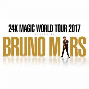 BRUNO MARS @ Amalie Arena | Tampa | Florida | United States