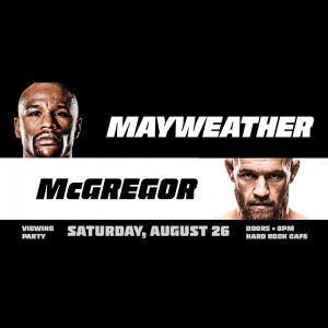 MAYWEATHER vs. MCGREGOR Viewing Party at Hard Rock @ Seminole Hard Rock Hotel & Casino Tampa | Tampa | Florida | United States