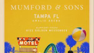 Mumford & Sons @ Amalie Arena | Tampa | Florida | United States