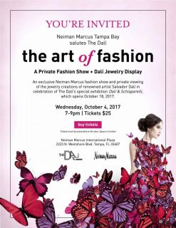THE ART OF FASHION @ Neiman Marcus Tampa Bay   Tampa   Florida   United States