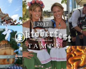 Prost! Oktoberfest Returns To Tampa's Waterfront.