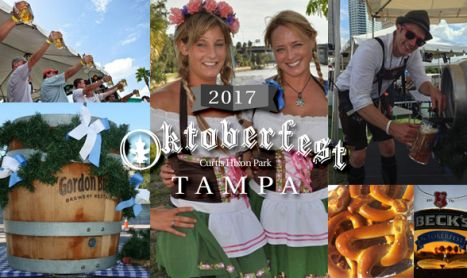 Prost! Oktoberfest Returns To Tampa's Waterfront.