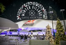 Winter Village at Curtis Hixon Park