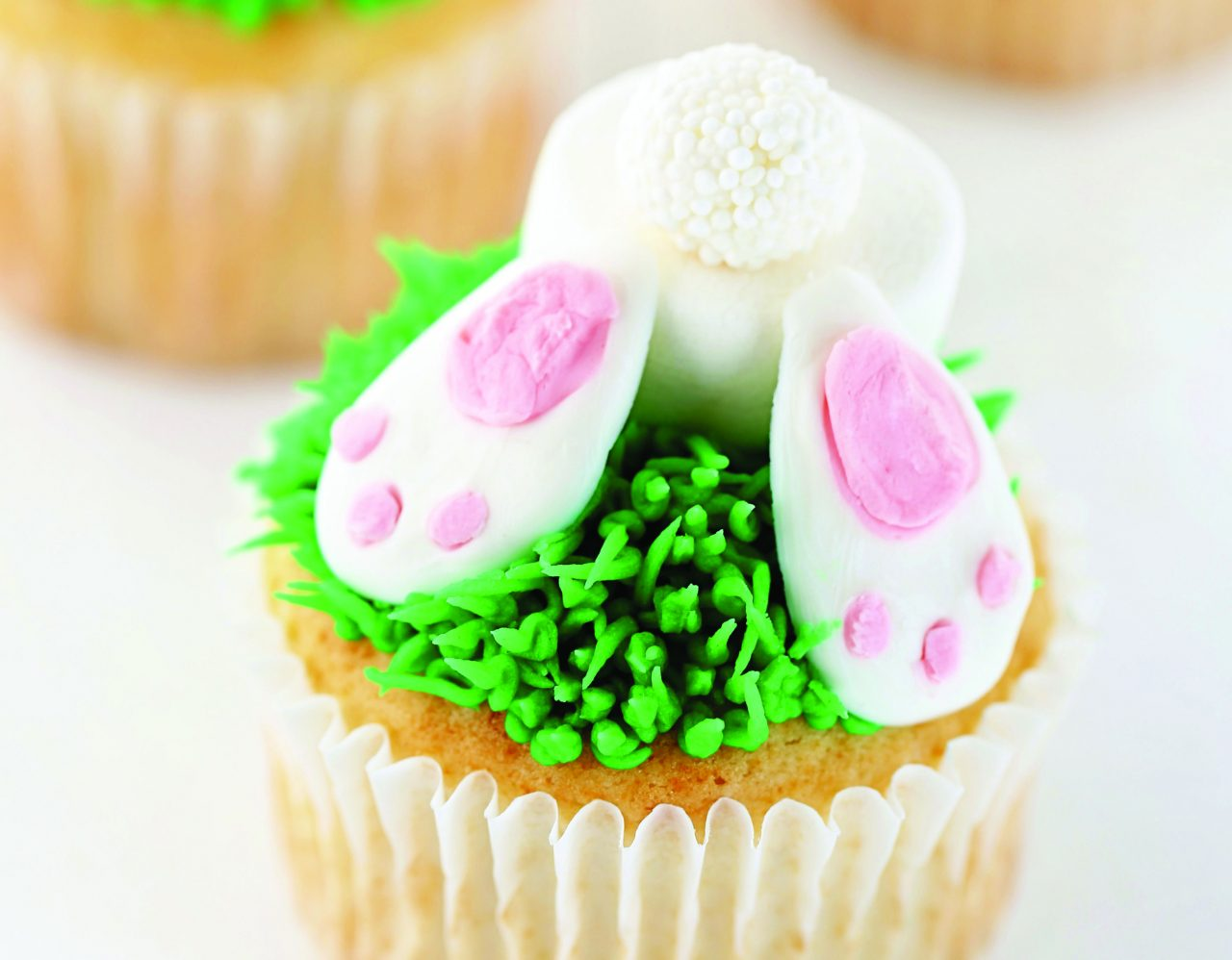 Metro Foodie feature with bunny cupcakes recipes