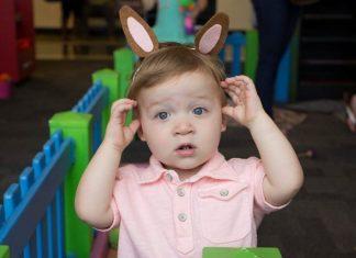 Easter Egg Hunt at at Glazer Children's Museum