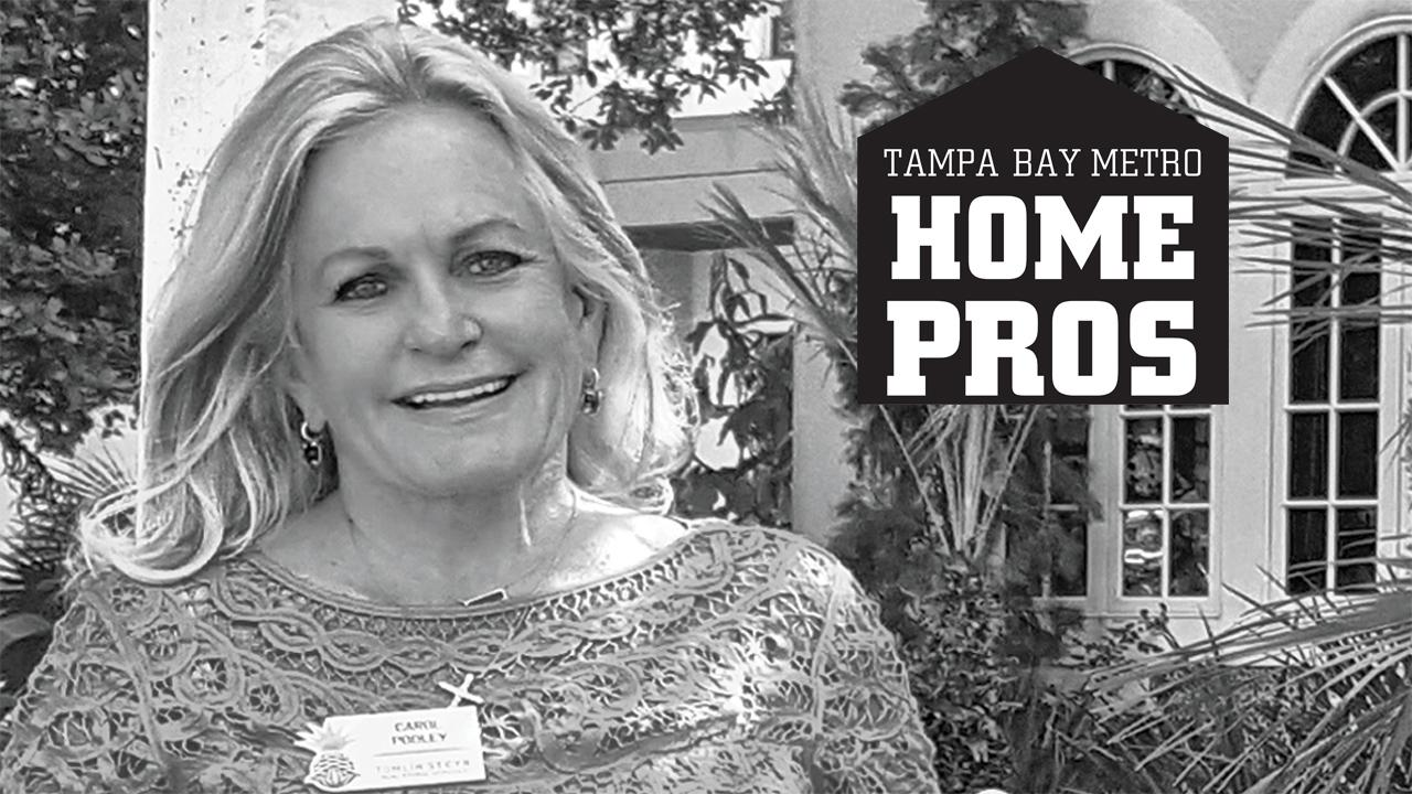 Carole Pooley is featured in Tampa Bay Metro Home Pros Section