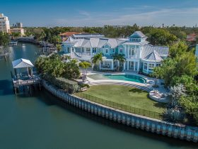 Key West Inspired Waterfront Estate On Davis Islands
