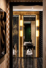 Rob Bowen Residence - Master Bathroom - Entry Portrait