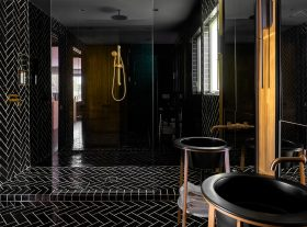 Rob Bowen Residence - Master Bathroom - Shower